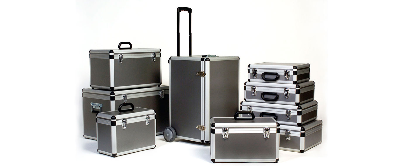 Maletas de aluminio