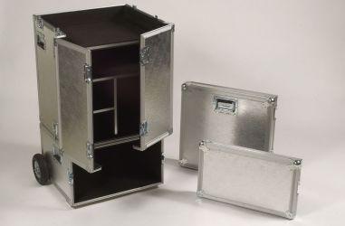Cajones de aluminio